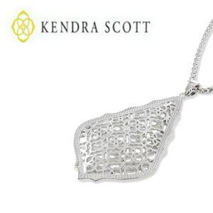 Kendra Scott ■ Aiden Silver Filigree Pendant